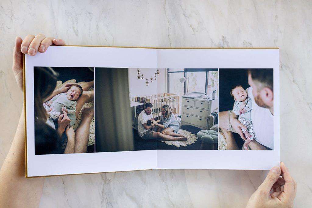 Inside a fine art photo album by Katrina Ferguson