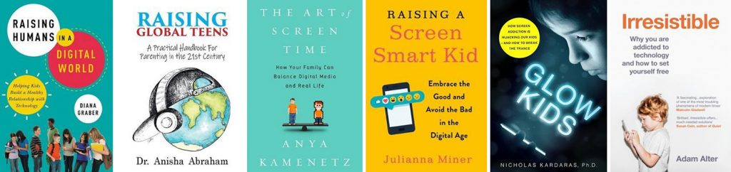 Books about kids and digital technology